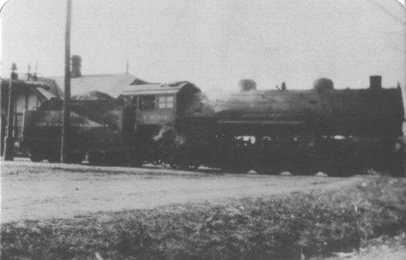 Train at Thorntown