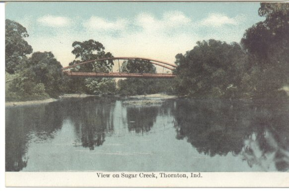 View on Sugar Creek