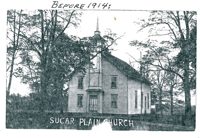 Sugar Plain Church before 1914