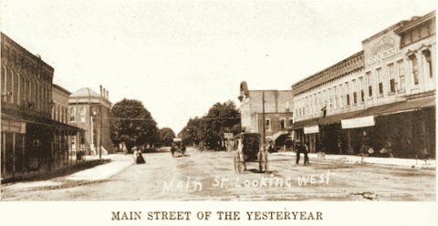 Main Street Looking West