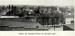 View of Thorntown in 1850