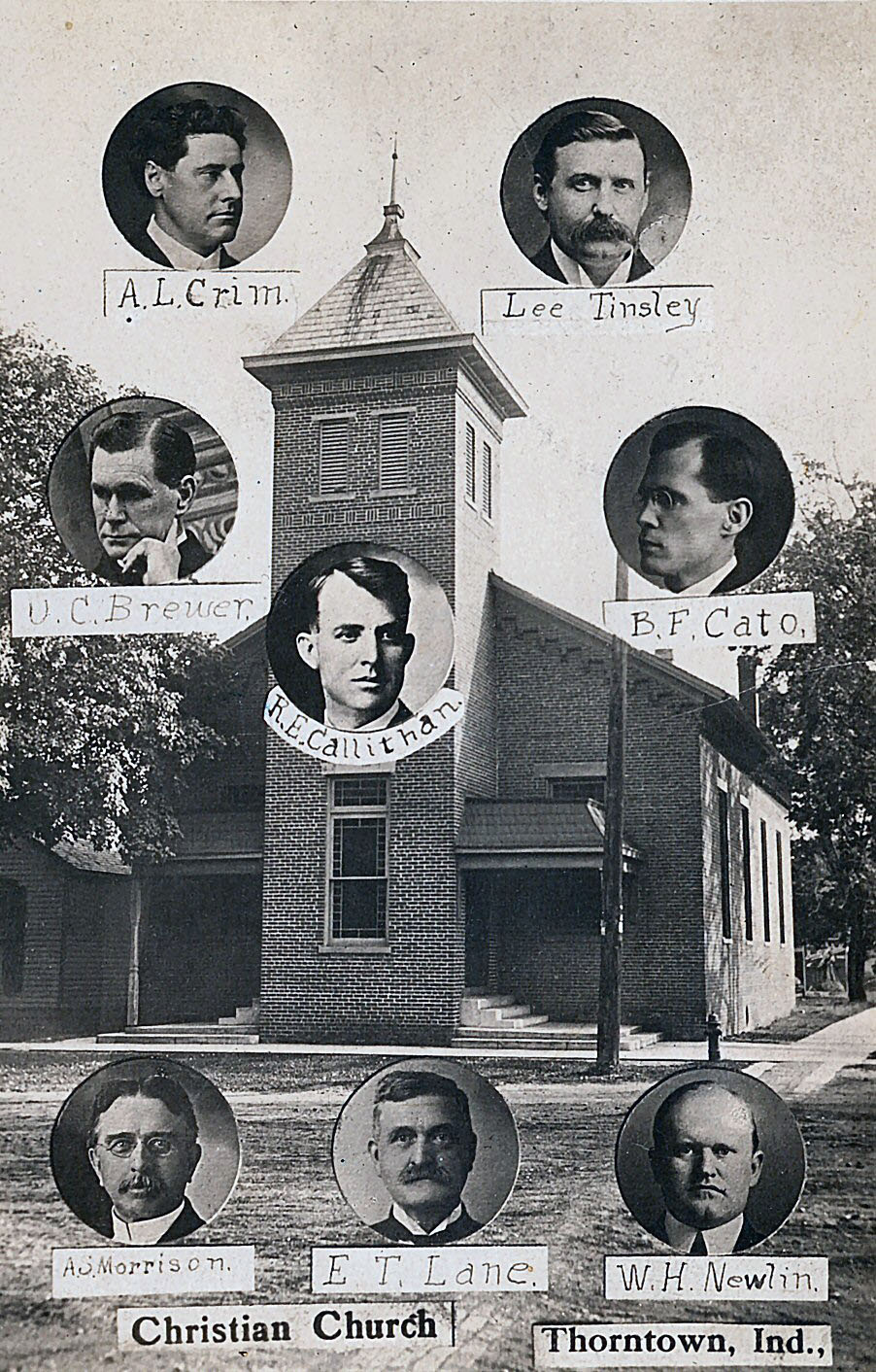 1911 Christian Church Staff