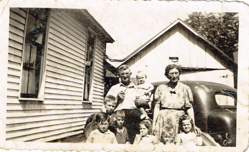 Erastus & Eva Birge & Grand Kids