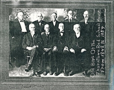 Old Boys of the Thorntown Red School House