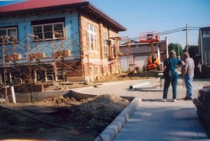 Thorntown Library Construction 2004
