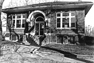 Thorntown Library original Carnegie