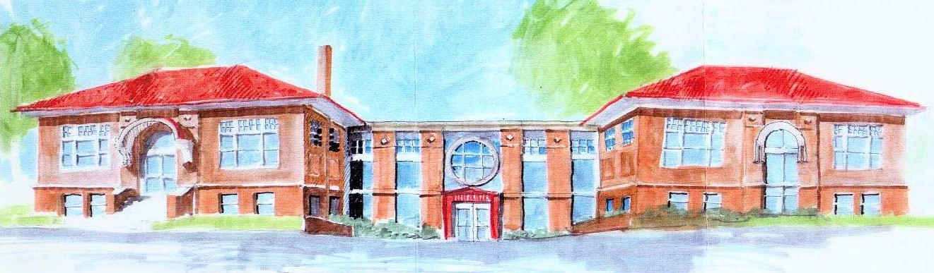 Thorntown Library Drawing